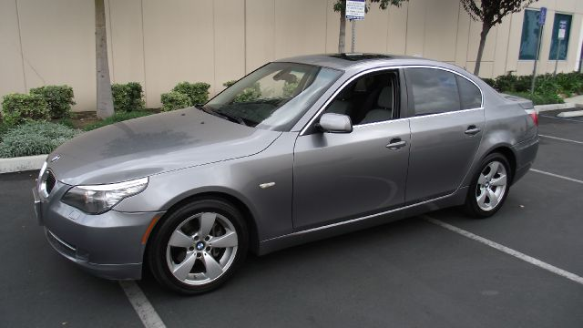 2008 BMW 5 SERIES 528I gray 2008 bmw 5 series 528i sedanautomatic rwd   leather  dual power sea