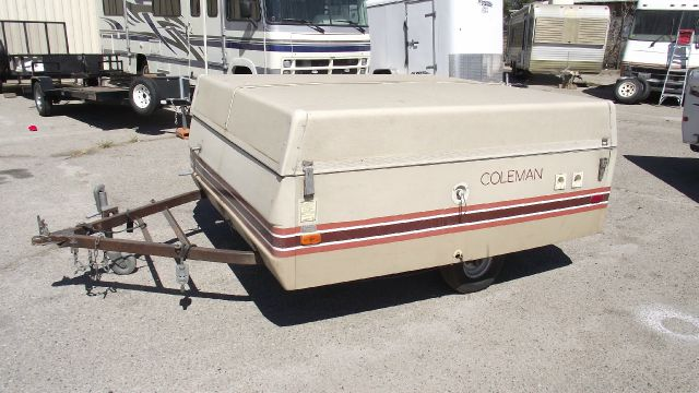 1981 COLEMAN POP UP TENT tan gvwr - 1600 lbs   1 78 ball   this trailer is sold as-is  i am not