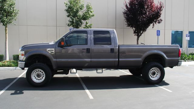 2008 FORD F350 LARIAT CREW CAB LONG BED 4WD gray 2008 ford f-350 super duty crew cab long bed  4 w