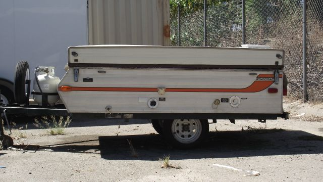 1976 STARCRAFT POP UP TENT STARLITE tan 1976 starlite pop up tenttrailer   110-125 v connection