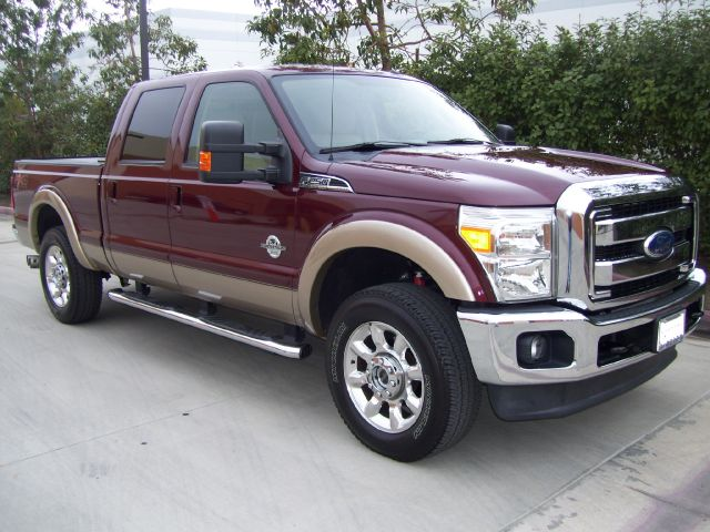 2012 FORD F250 LARIAT CREW CAB 4WD deep redgold loaded latiat67 turbo diesel4wdonly 307