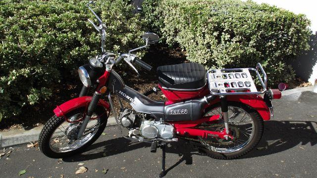 1970 HONDA TRAIL 90 red 1970 honda trail 90   only 525 miles  like new  runs great  fires righ