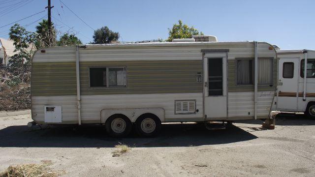 1977 ALFA IDEAL FAMILY TRAILER tan 1977 alfa ideal family travel trailer   call now   866 261 01