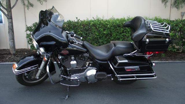 2004 HARLEY-DAVIDSON ELECTRA GLIDE CLASSIC MC black 57493 miles VIN 1HD1FFW354Y625989