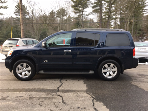 used nissan armada for sale new hampshire. Black Bedroom Furniture Sets. Home Design Ideas