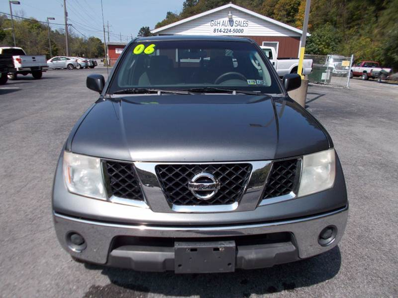 2006 Nissan Frontier SE 4dr King Cab 4WD SB 6M - Roaring Spring PA