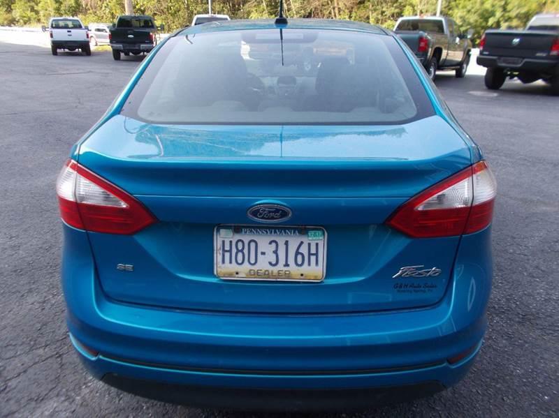 2014 Ford Fiesta SE 4dr Sedan - Roaring Spring PA