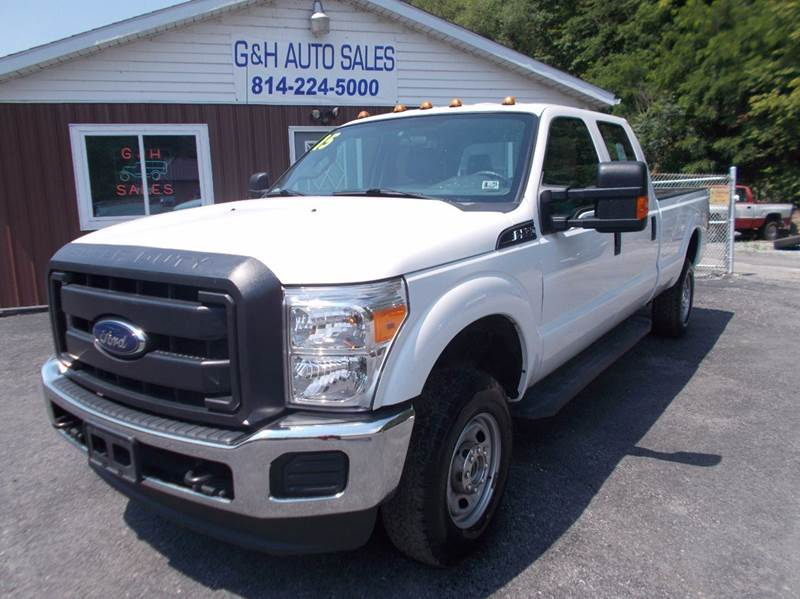 2015 Ford F-250 Super Duty XL 4x4 4dr Crew Cab 8 ft. LB Pickup - Roaring Spring PA