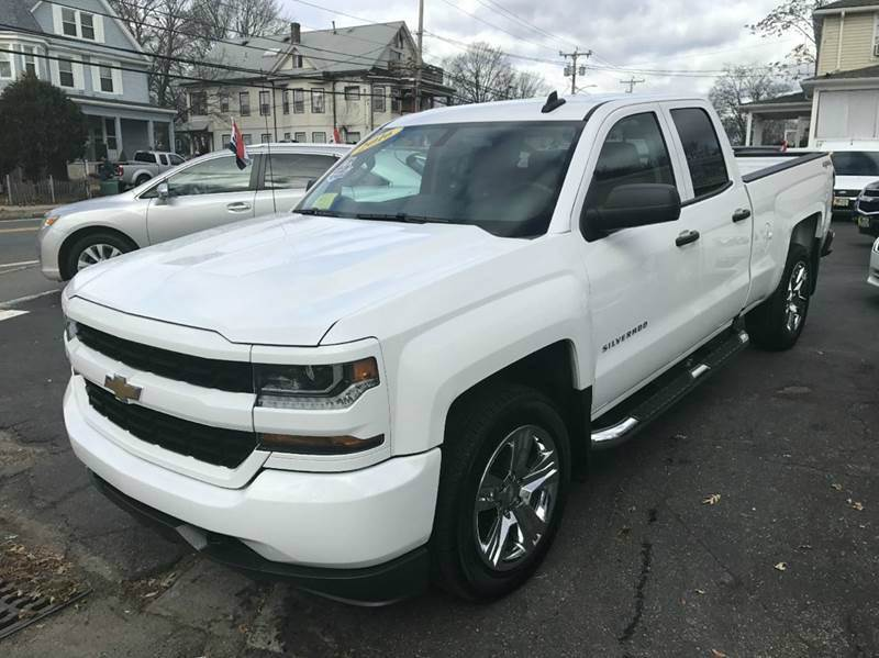 2016 Chevrolet Silverado 1500 Custom 4x4 4dr Double Cab 6.5 ft. SB - Framingham MA