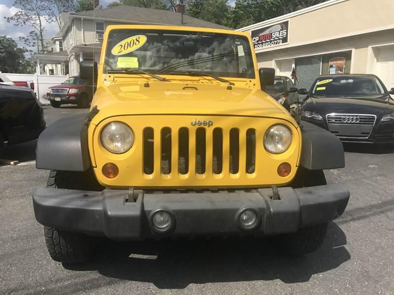 2008 Jeep Wrangler Unlimited X 4x4 4dr SUV - Framingham MA