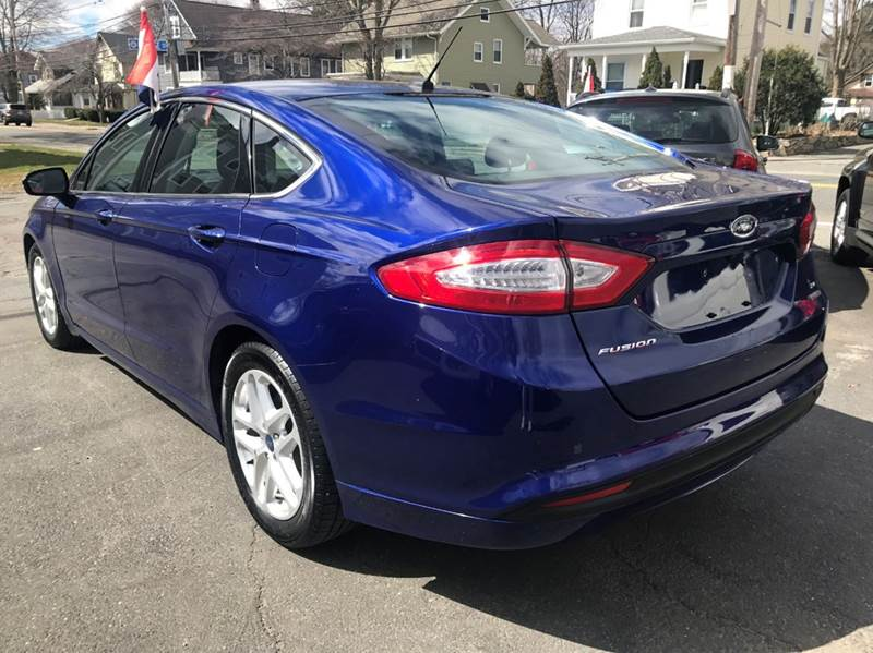 2016 Ford Fusion SE 4dr Sedan - Framingham MA