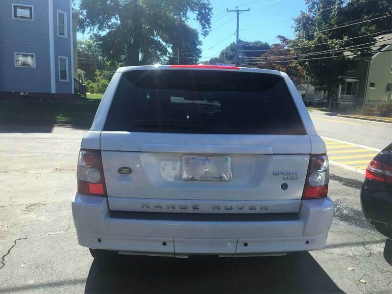 2009 Land Rover Range Rover Sport HSE 4x4 4dr SUV w/ Luxury Package - Framingham MA