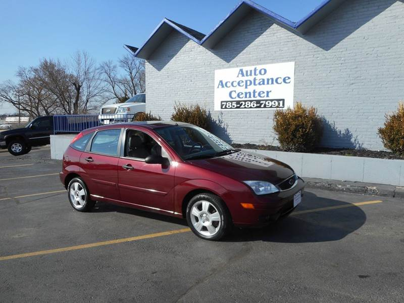2007 ford focus zx5 ses 4dr hatchback in topeka ks auto. Black Bedroom Furniture Sets. Home Design Ideas