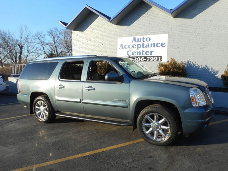 2008 gmc yukon xl awd denali 4dr suv in topeka ks auto acceptance center inc. Black Bedroom Furniture Sets. Home Design Ideas