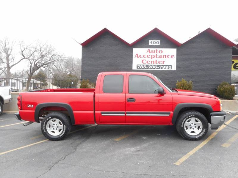 2005 chevrolet silverado 1500 lt 4dr extended cab 4wd sb in topeka ks auto acceptance center inc. Black Bedroom Furniture Sets. Home Design Ideas