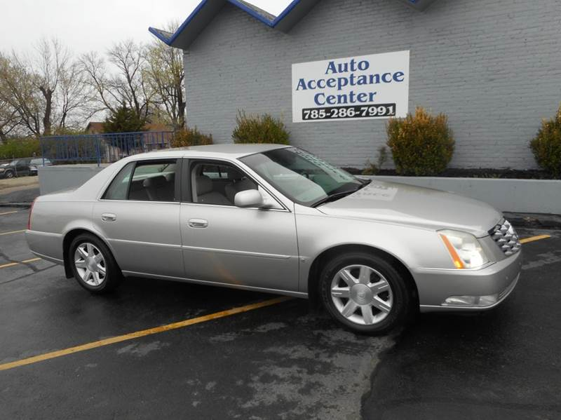 2006 cadillac dts luxury i 4dr sedan in topeka ks auto acceptance center inc. Black Bedroom Furniture Sets. Home Design Ideas