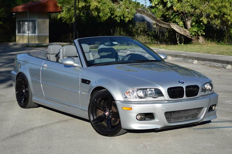 2003 Bmw M3 Base 2dr Convertible In Miami Fl Miami Imports