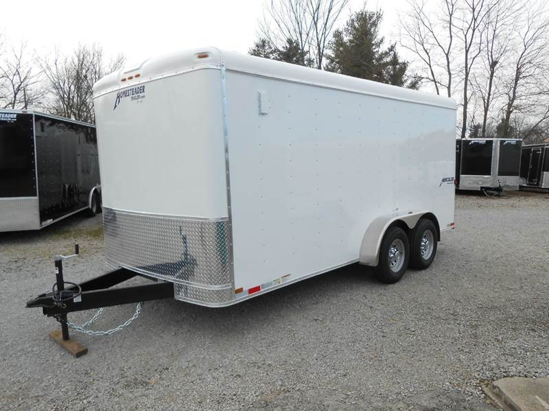 2018 Homesteader Hercules 7x16 (White)