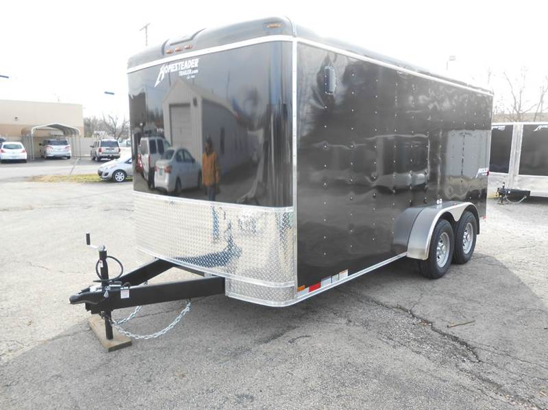 2018 Homesteader Hercules 7x16 (Black)