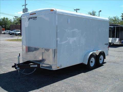 2018 Homesteader Challenger 7x14 B (White)