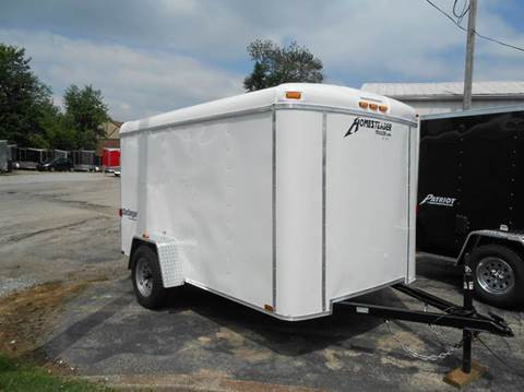 2018 Homesteader Challenger 6x10 B (White)