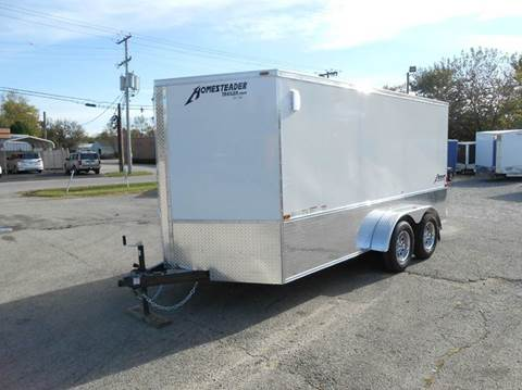 2018 Homesteader Patriot 7x14 MC (White)