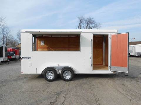 2018 Homesteader Challenger 7x16 Concession