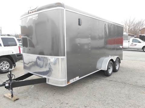 2018 Homesteader Challenger 7x16 (Gray)