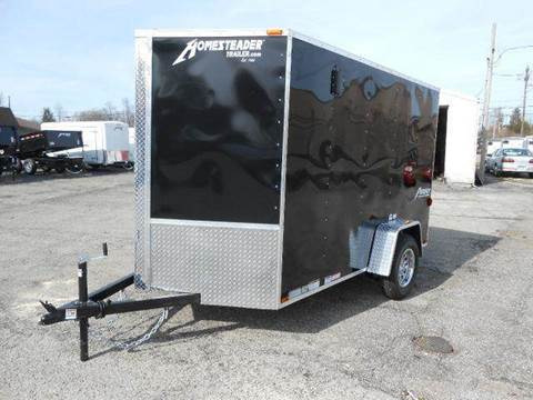 2018 Homesteader Patriot 6x10 MC (Black)