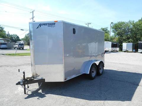 2018 Homesteader Patriot 6x12 Tandem (Silver)