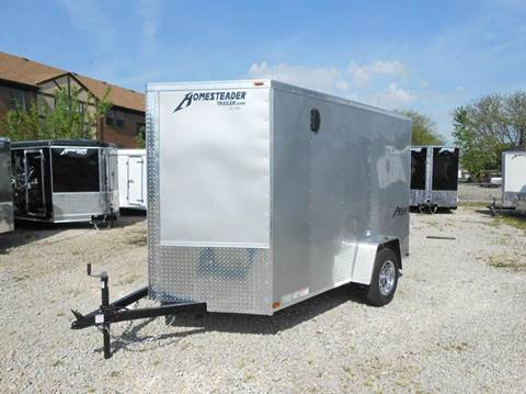 2018 Homesteader Patriot 6x10 MC (Silver)