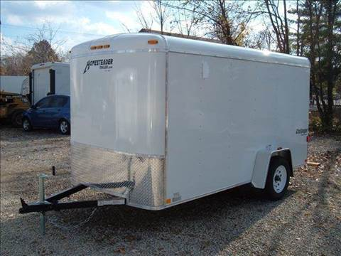 2018 Homesteader Challenger 6x12 MC (White)