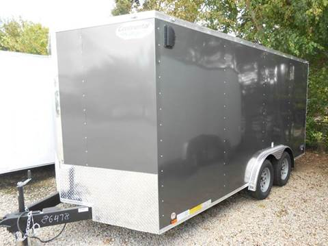 2018 Continental Cargo V-Series 8x16 (Gray) for sale in Jeffersontown, KY
