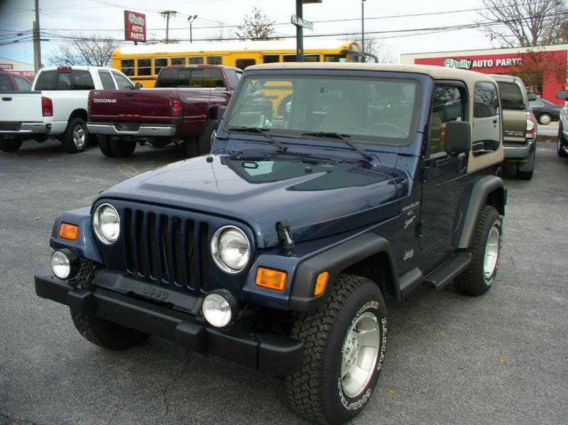 2000 jeep wrangler sport 2dr 4wd suv in anderson sc brewster used cars. Black Bedroom Furniture Sets. Home Design Ideas