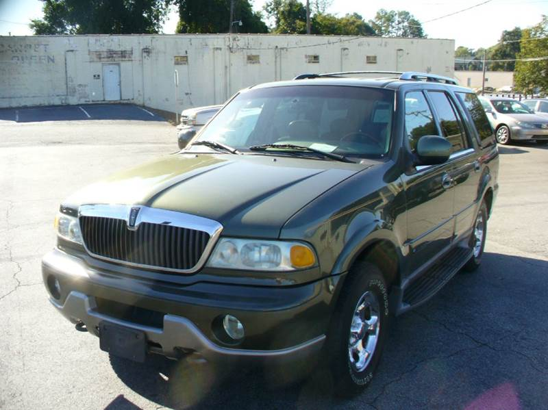 2001 Lincoln Navigator Base 4wd 4dr Suv In Anderson Sc Brewster Used Cars