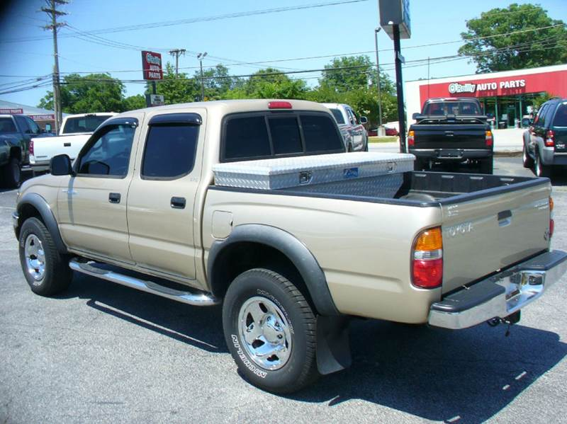 2002 toyota tacoma 4dr double cab prerunner 2wd sb in anderson sc brewster used cars. Black Bedroom Furniture Sets. Home Design Ideas