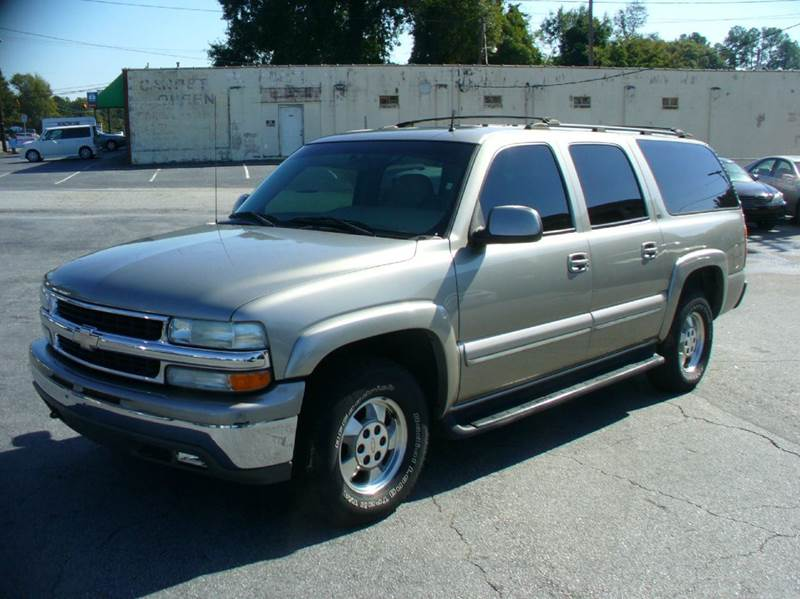 2002 chevrolet suburban 1500 lt 2wd 4dr suv in anderson sc brewster used cars. Black Bedroom Furniture Sets. Home Design Ideas