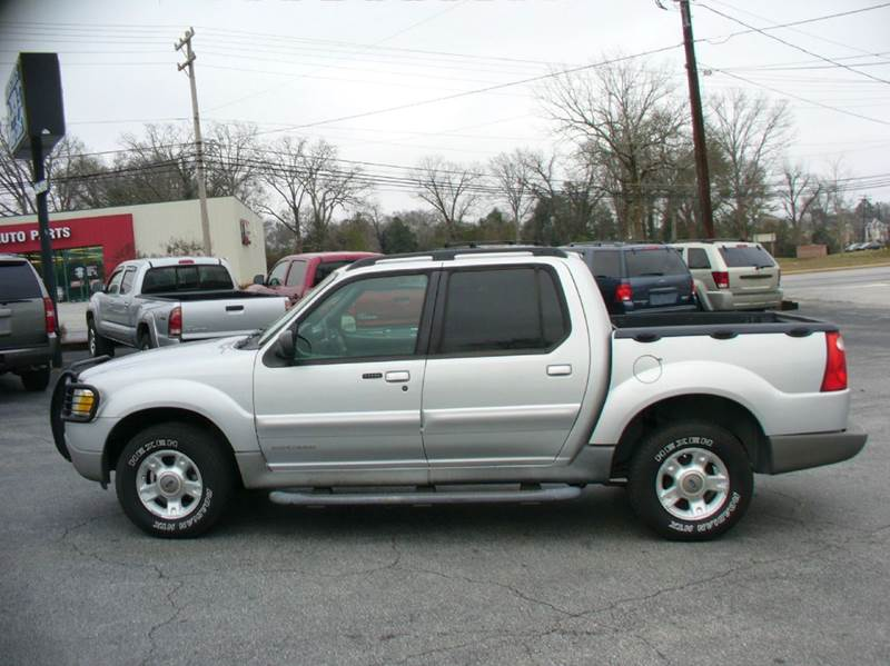 2002 Ford Explorer Sport Trac 4dr Crew Cab Sb 2wd In Anderson Sc Brewster Used Cars