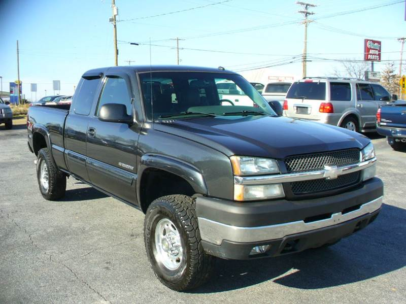 2003 chevrolet silverado 2500hd lt 4dr extended cab 4wd sb in anderson sc brewster used cars. Black Bedroom Furniture Sets. Home Design Ideas