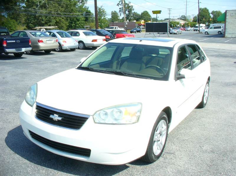 2006 chevrolet malibu maxx lt 4dr hatchback in anderson sc. Black Bedroom Furniture Sets. Home Design Ideas