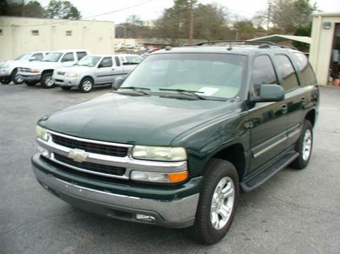2004 Chevrolet Tahoe for sale in Anderson, SC