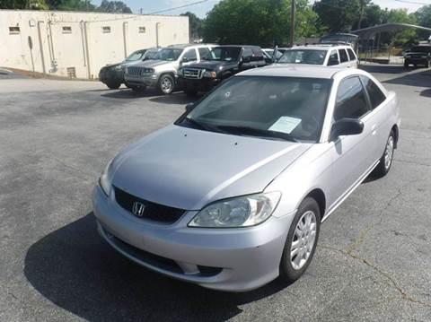2005 Honda Civic for sale in Anderson, SC