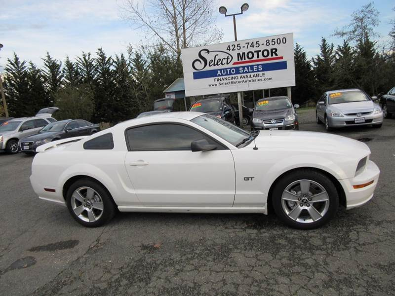 2007 Ford Mustang GT Premium 2dr Coupe - Lynnwood WA