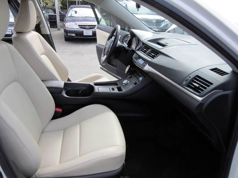 2012 Lexus CT 200h 4dr Hatchback - Lynnwood WA