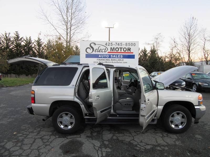 2006 GMC Yukon SLT 4dr SUV 4WD - Lynnwood WA