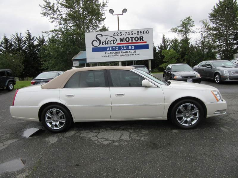 2011 cadillac dts platinum collection pla 4dr sedan in lynnwood wa select motor auto sales. Black Bedroom Furniture Sets. Home Design Ideas