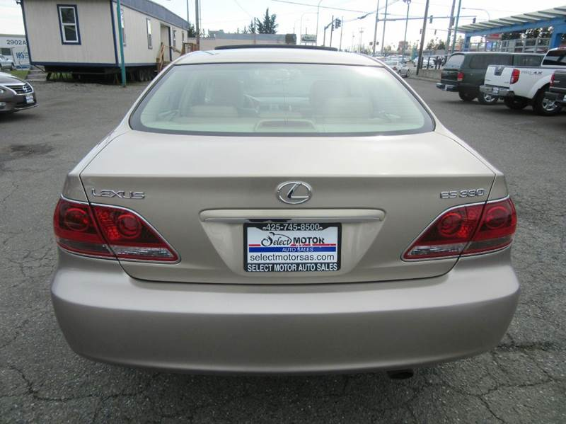 2005 Lexus ES 330 4dr Sedan - Lynnwood WA