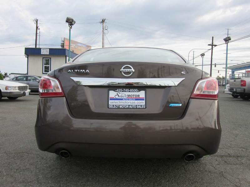 2013 Nissan Altima 2.5 S 4dr Sedan - Lynnwood WA
