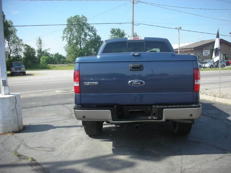 2006 Ford F-150 FX4 4dr SuperCrew 4WD Styleside 5.5 ft. SB - Defiance OH