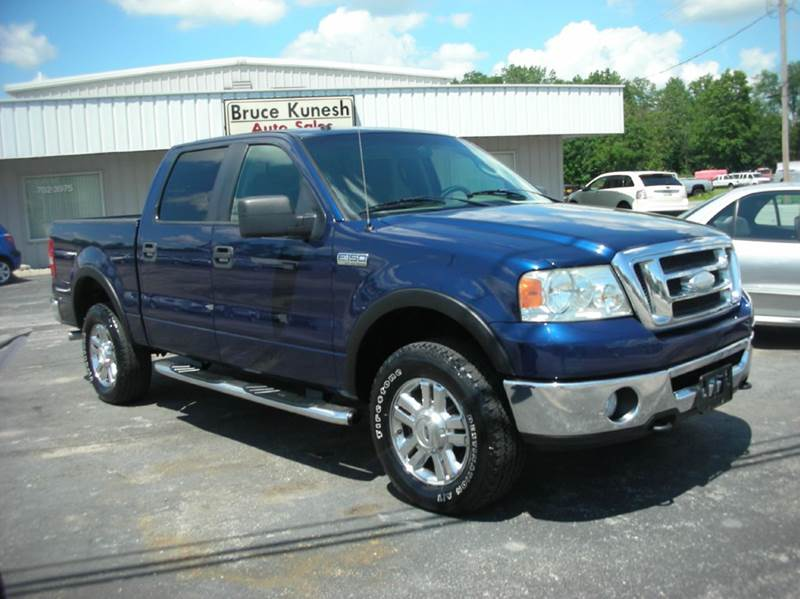 2008 Ford F-150 4x4 FX4 4dr SuperCrew Styleside 5.5 ft. SB - Defiance OH